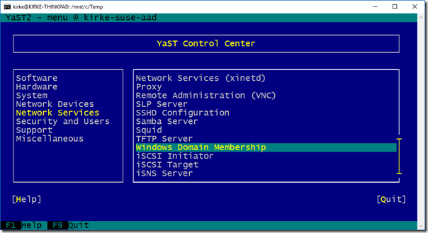 Joining a SUSE Linux Enterprise Server to a Microsoft Azure