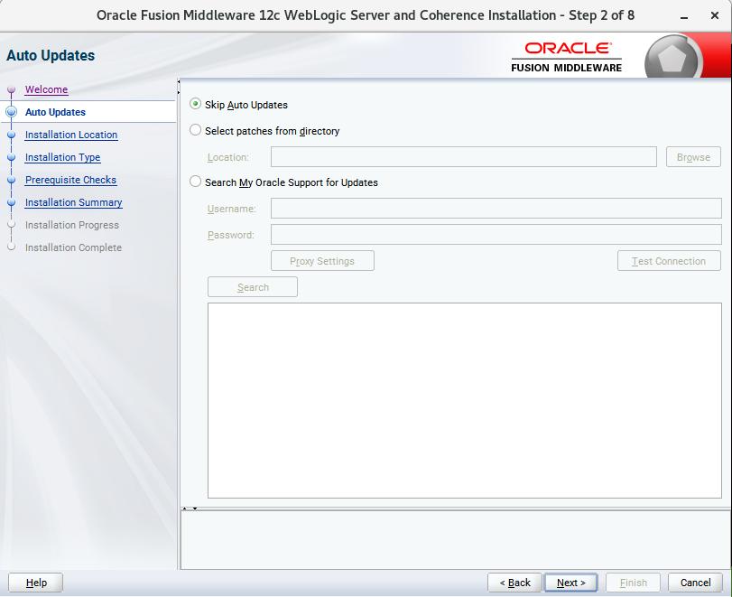 Installing Oracle WebLogic Server 12cR2 on SUSE Linux