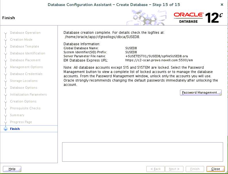 Installing Oracle RAC on SUSE Linux Enterprise Server 12 | SUSE