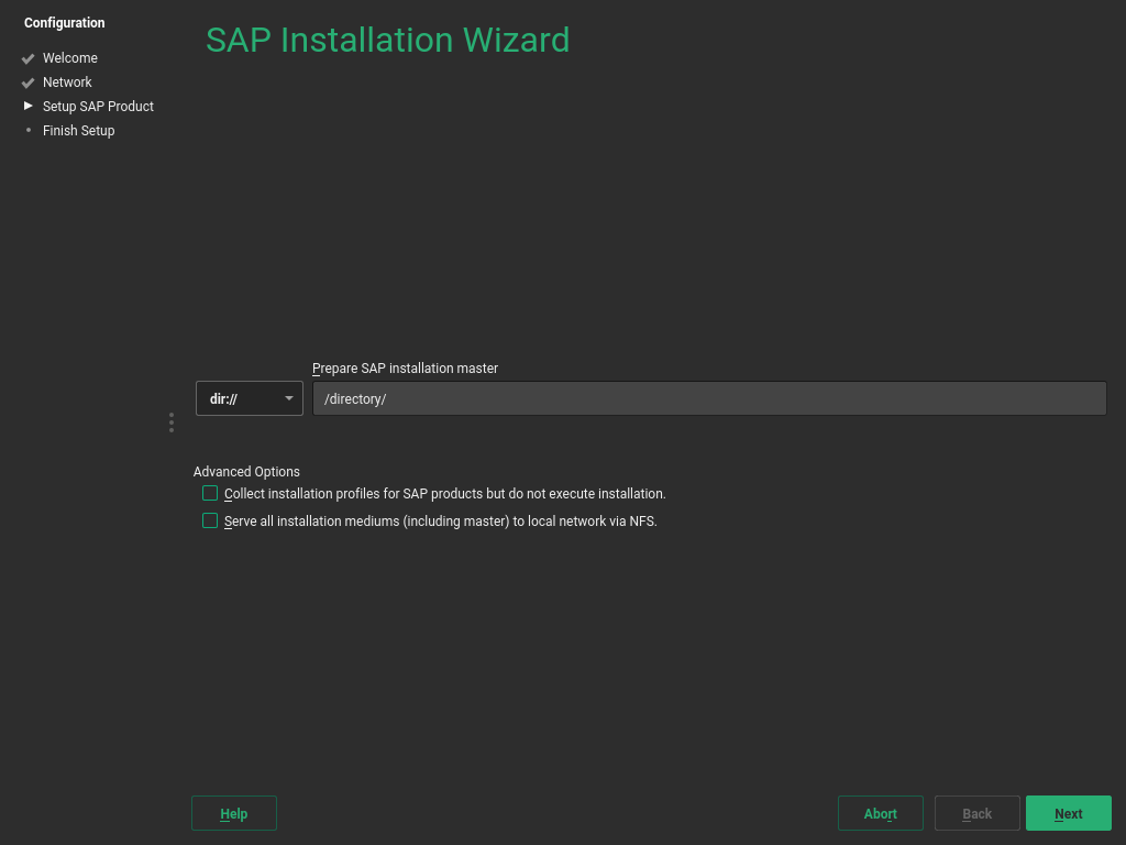 SUSE Doc: Guide - Using the SAP Installation Wizard - July