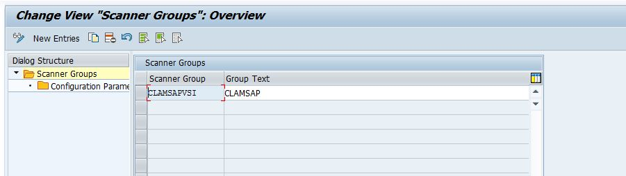 SUSE Doc: Guide - Creating a Virus Scanner Group in SAP