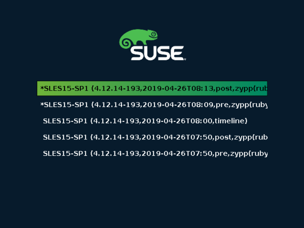 Administrationshandbuch | SUSE Linux Enterprise Server 15 SP1