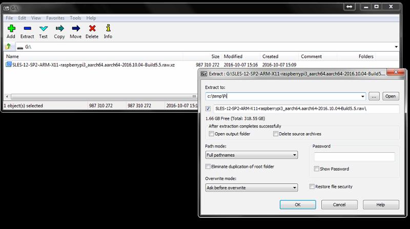 Raspberry Pi Quick Start | SUSE Linux Enterprise Server 15 SP1