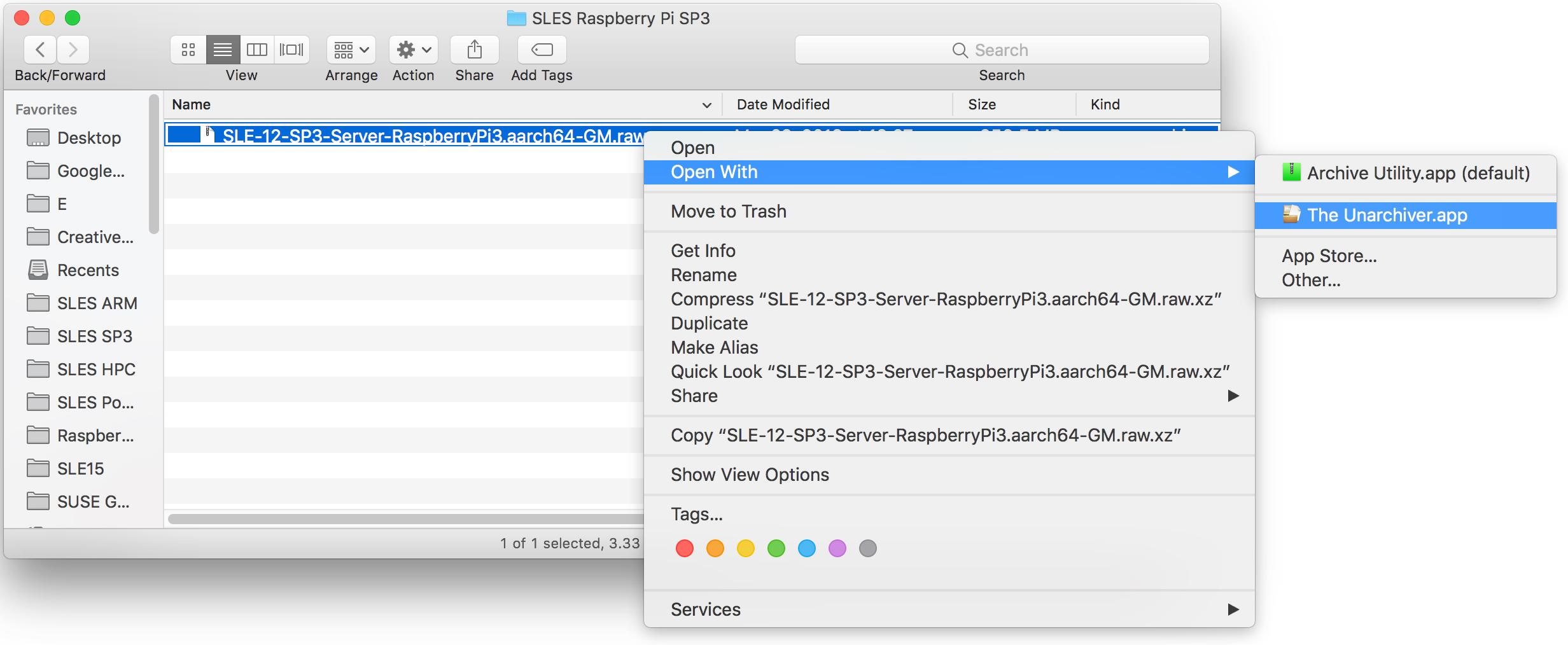 Raspberry Pi Quick Start   SUSE Linux Enterprise Server 15 SP1