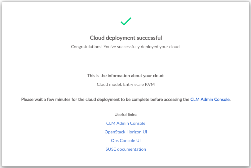 Deployment Guide using Cloud Lifecycle Manager   SUSE